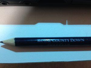 スコットランドセントアンドリュースの鉛筆