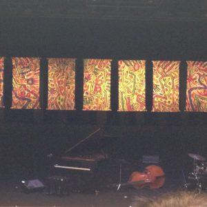 横浜ジャズプロムナードの舞台