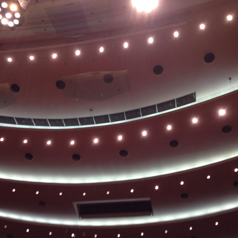 サントリーホール天井