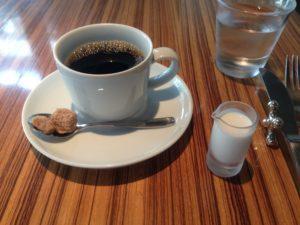 とらやカフェのコーヒー