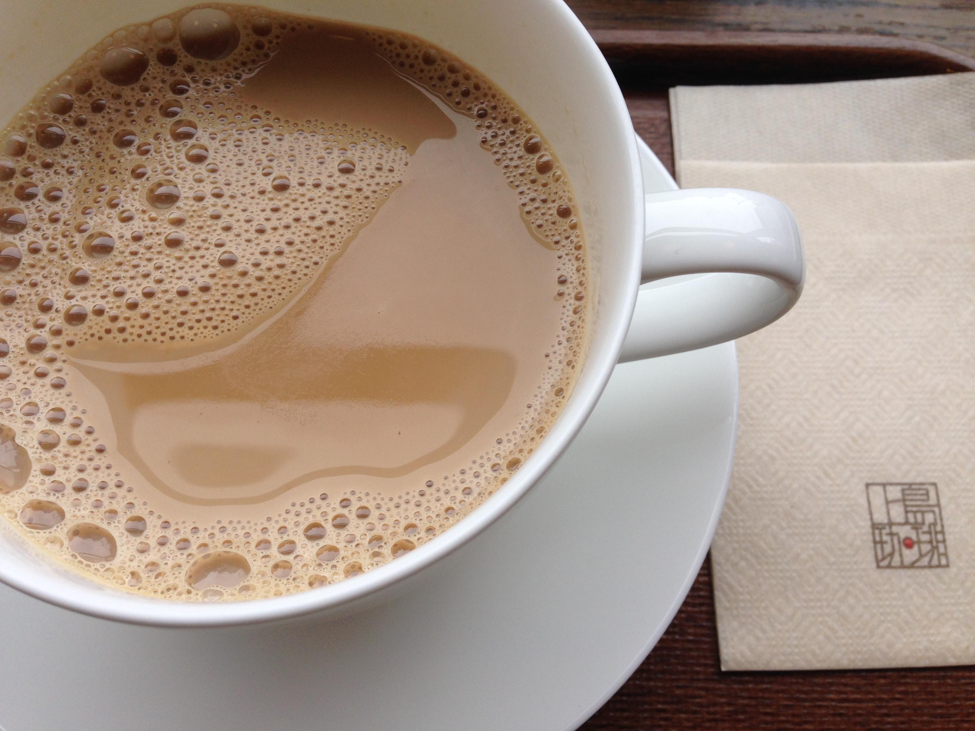 上島の黒糖ミルクコーヒー