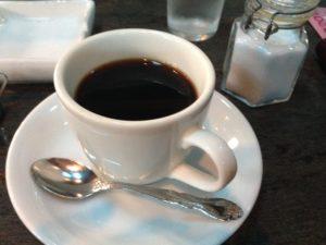 名曲喫茶「ライオン」のコーヒー