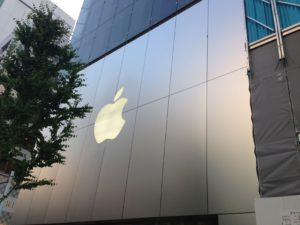 銀座のApple Store