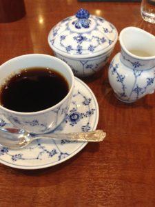 新宿タカシマヤスクエアの椿屋茶房のコーヒー