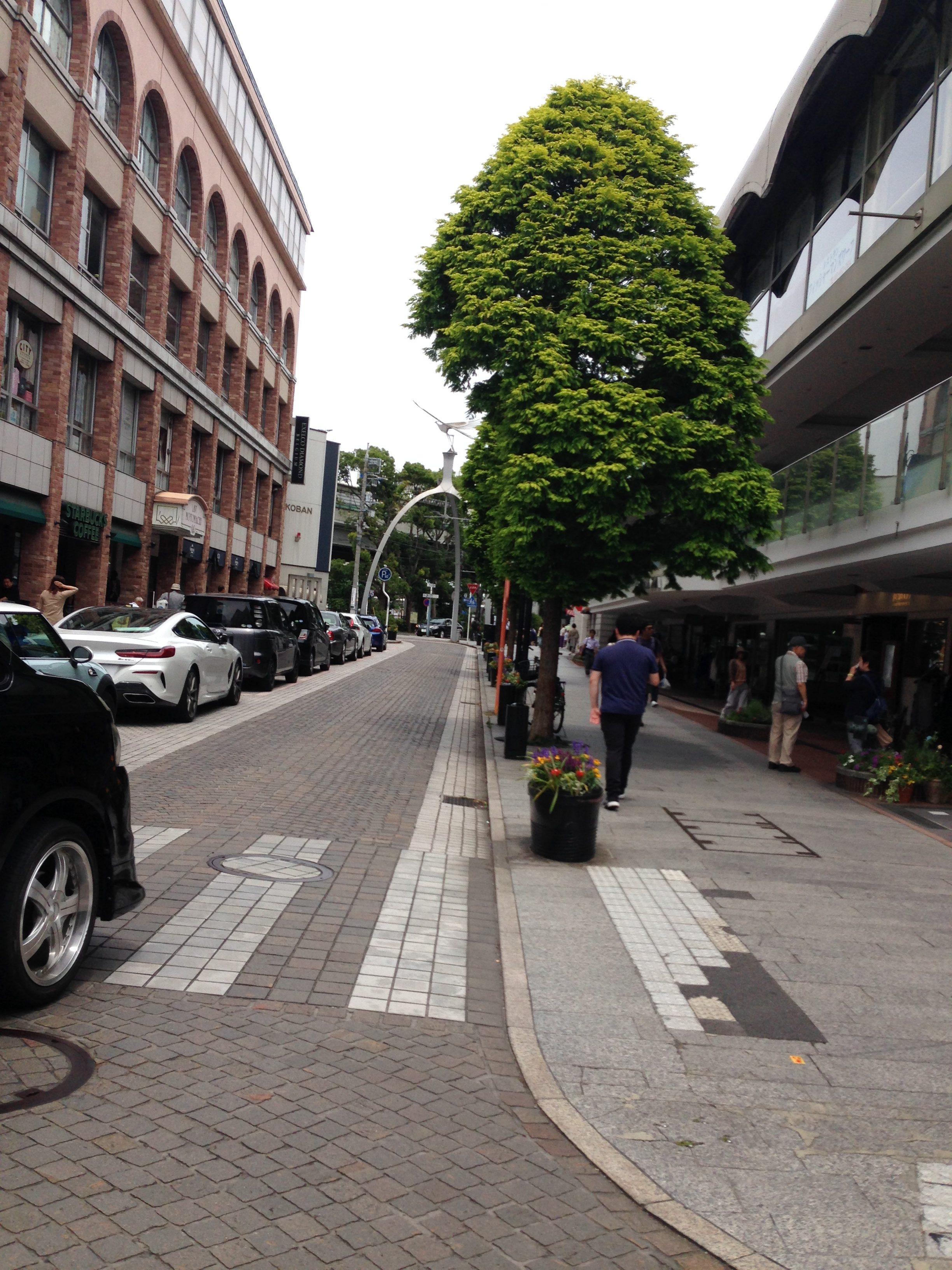 横浜元町のとおり