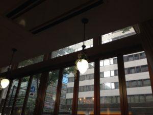 横浜ありあけのカフェ店内