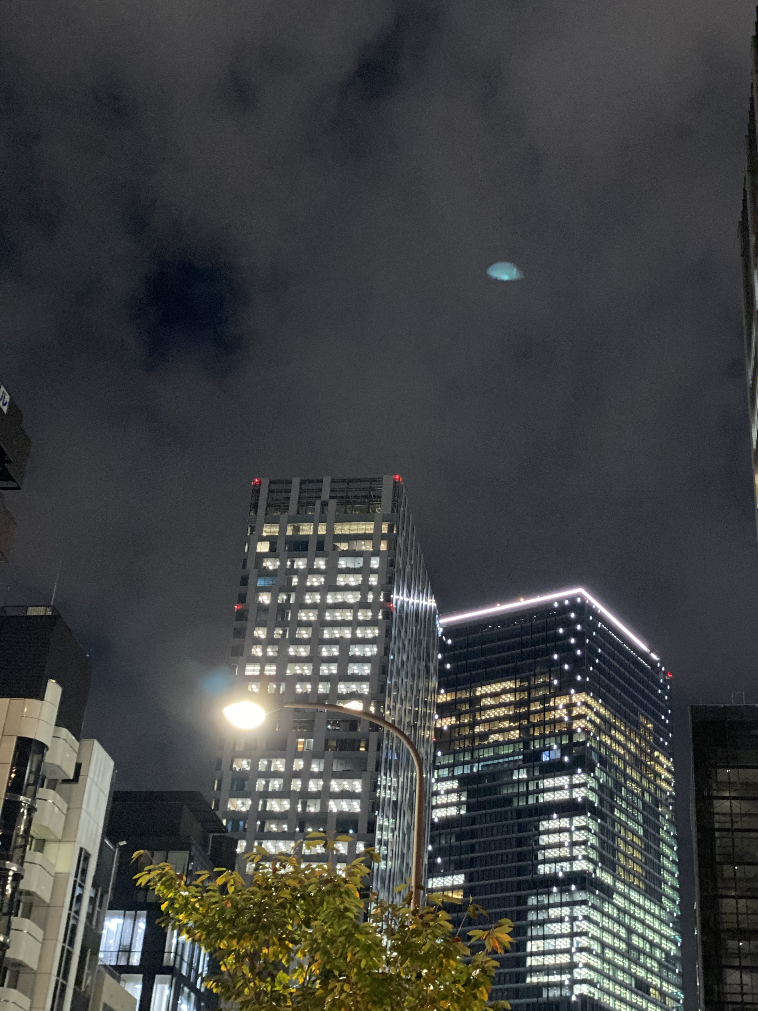 I think this is UFO in Tokyo near the building of Google Japan