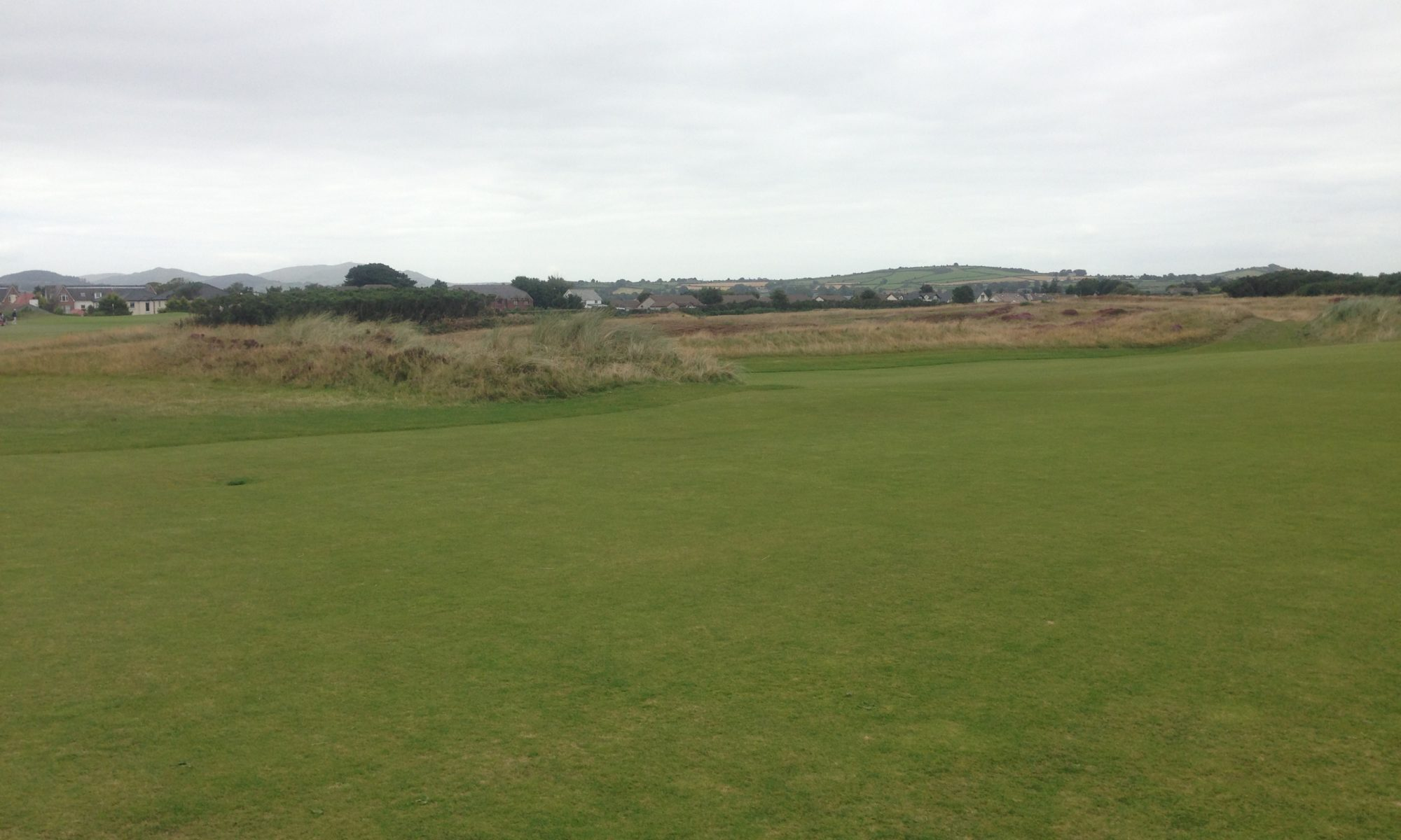 golf course in UK