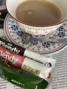 コーヒーとTIME Magazine